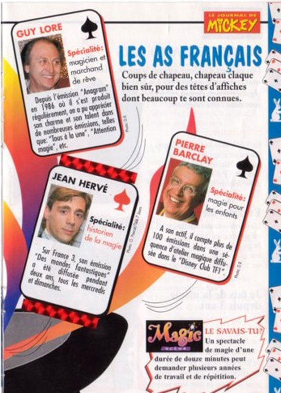 As français magiciens