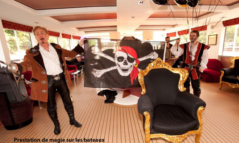 Magicien pirate Paris