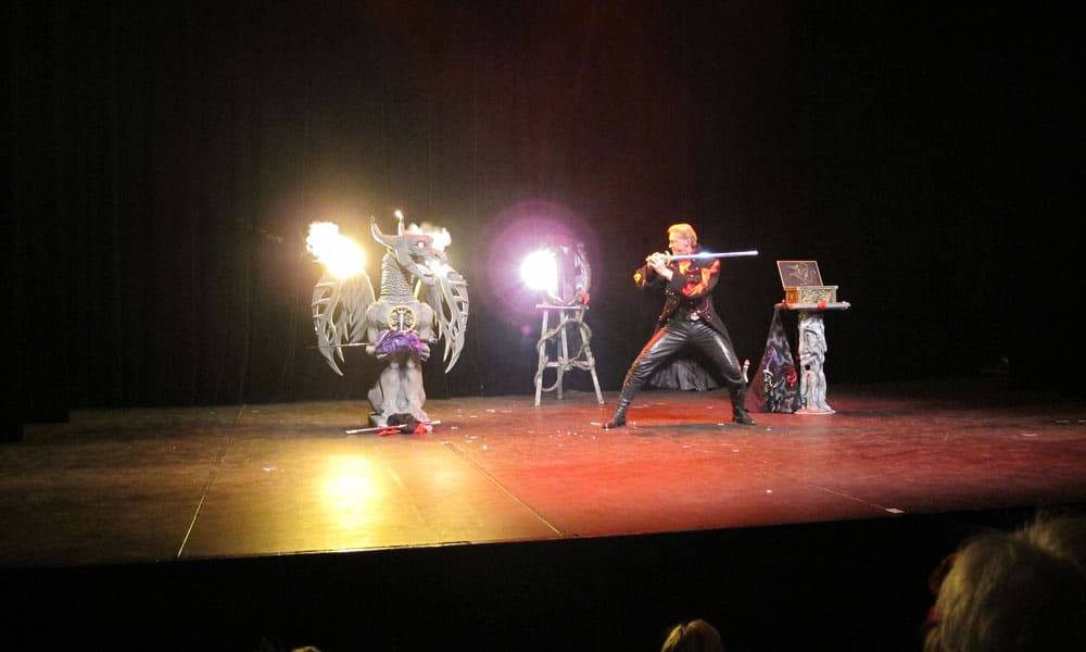 Magicien spectacle magie Geneve