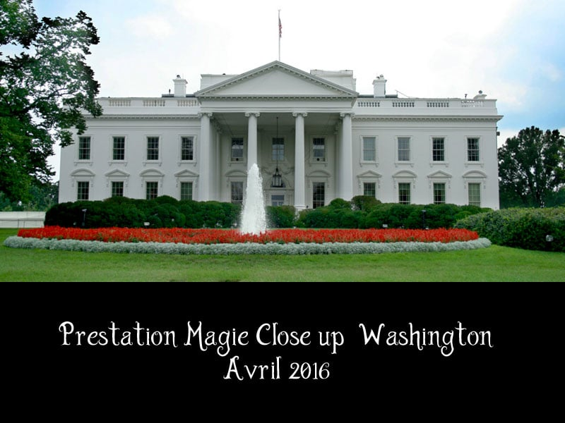 Magicien Washington