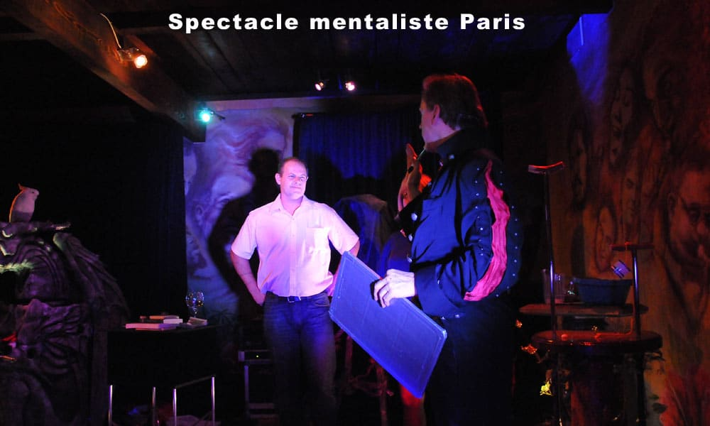 Spectacle mentaliste Paris